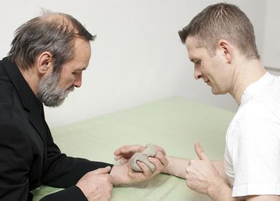 Handtherapie, Ergotherapie in der Orthopädie