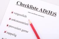 Ergotherapie bei ADHS, Checkliste