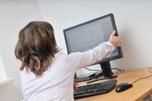 Bildschirmarbeitsplatz, Arbeitsplatzberatung in der Ergotherapie