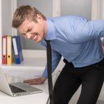 Rückenschmerzen am Arbeitsplatz / Computer