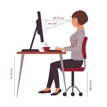 Ergonomische Büroausstattung: Die ergotherapeutische Praxis korrekt einrichten